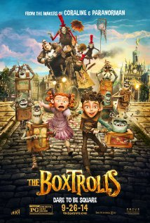 The Boxtrolls (2014) (BR Rip)  - New Hollywood Dubbed Movies