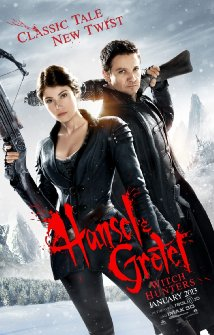 Hansel & Gretel Witch Hunters (2013)  (DVD) - Hollywood Movies Hindi Dubbed
