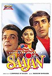 Saajan (1991) (DVD Rip) - Evergreen Bollywood Movies