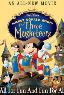 Mickey Donald Goofy The Three Musketeers (2004) (Dvd Rip)