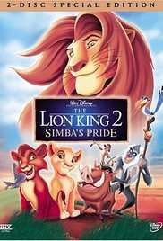 The Lion King 2 - Simbas Pride (1998) (BluRay) - The Lion King All Series