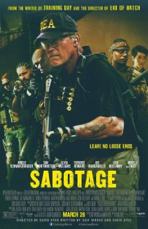Sabotage (2014) (BR Rip) - New Hollywood Dubbed Movies