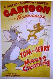 038  Mouse Cleaning (Tom & Jerry) (1948) - Tom & Jerry