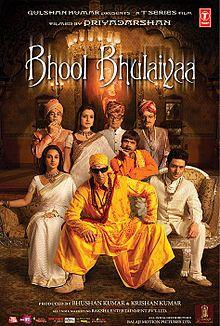 Bhool Bhulaiyaa (2007) (DVD Rip) - Bollywood Movies