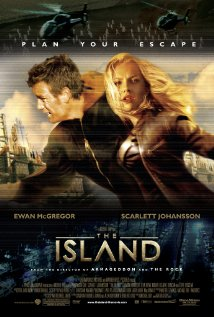 The Island (2005) (BR Rip) - Hollywood Movies Hindi Dubbed