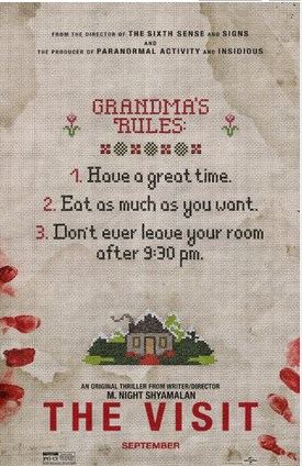 The Visit (2015) (BR Rip) - New Hollywood Dubbed Movies