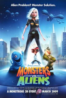Monsters vs Aliens (2009) (BRRip)