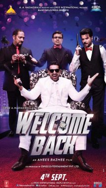 Welcome Back (2015) (BluRay) - New BollyWood Movies