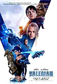 Valerian and the City of a Thousand Planets (2017) (BluRay) - New Hollywood Dubbed Movies