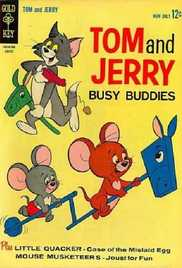 100  Busy Buddies (Tom & Jerry) (1956) - Tom & Jerry