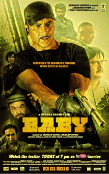 Baby (2015) (BluRay) - New BollyWood Movies